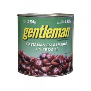 Castañas en Almibar Trozos - Gentleman