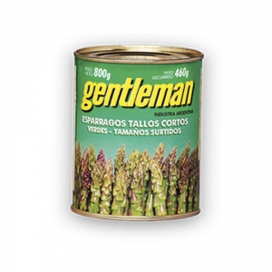 Espárragos Verdes Tallos Cortos - Gentleman